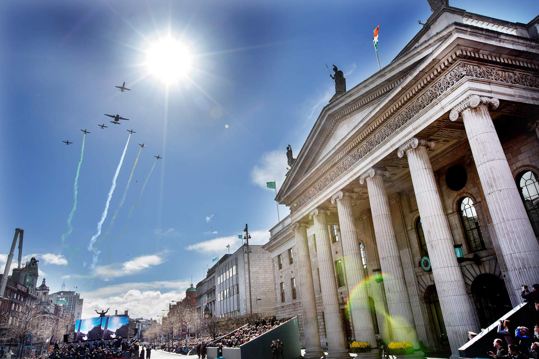Dublin GPO 2016-celebration
