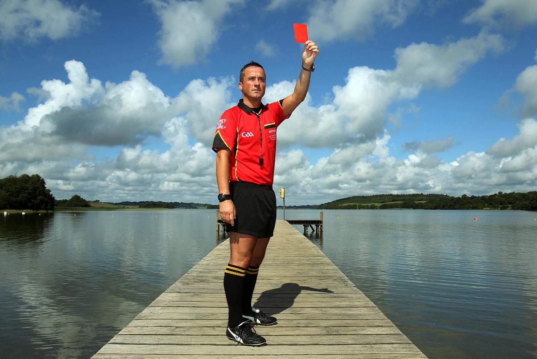 James McGrath-red-card-lake