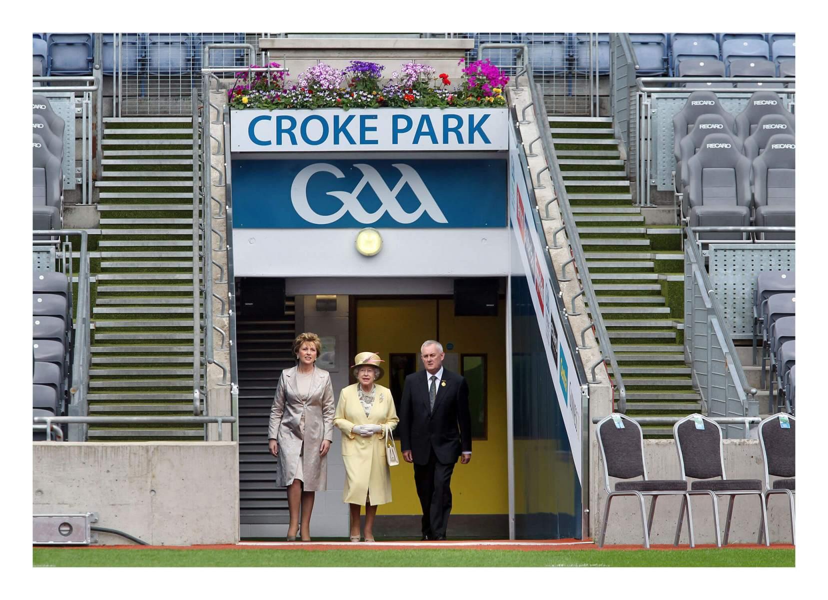 Queen Elizbaeth and President McAleese-Croke-Park