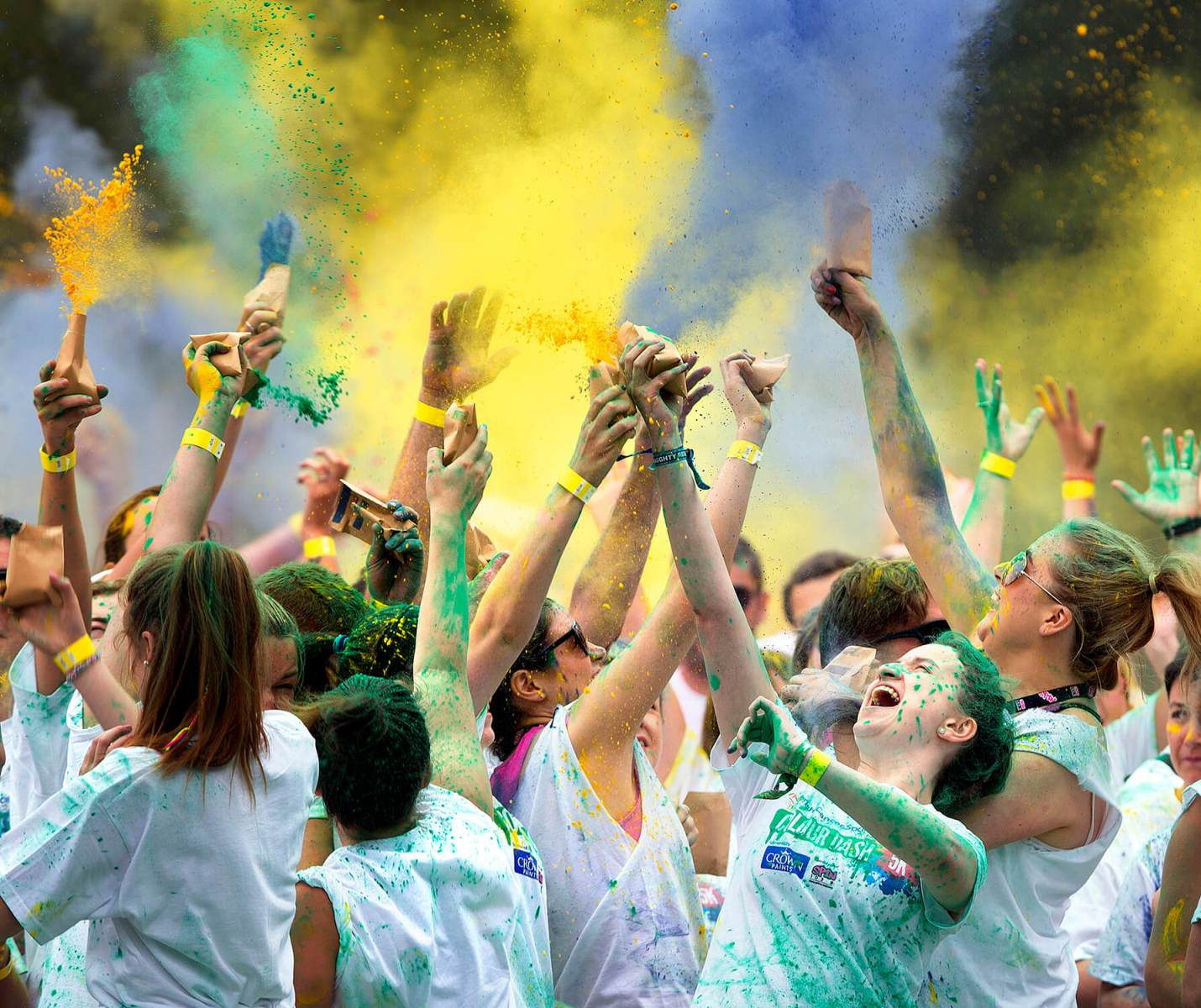 Colour Dash-celebration